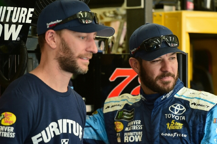 Here's why Martin Truex Jr. was the only one penalized at Kansas