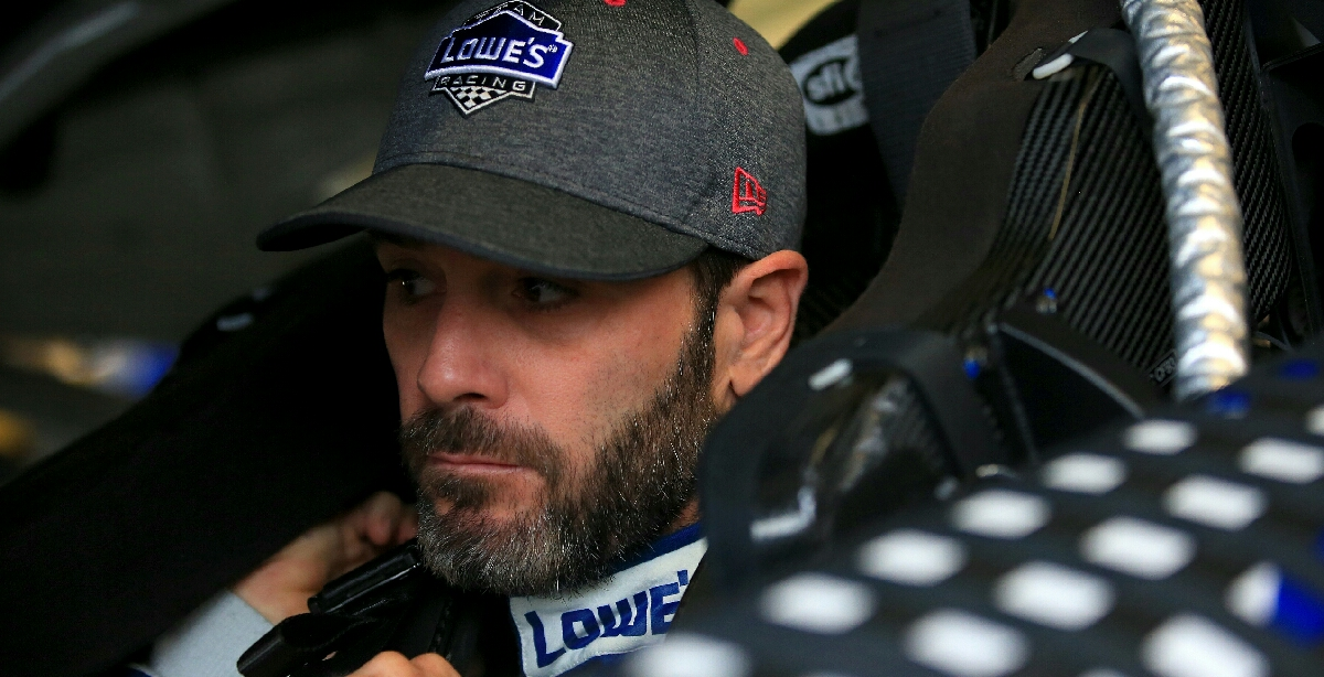 Jimmie Johnson's huge run from the back the big story from stage one