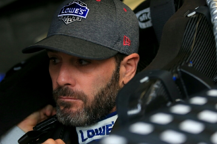 Jimmie Johnson sticks up for his crew after a major blunder