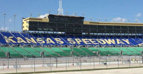 The weather could wreak havoc with the races at Kansas this weekend