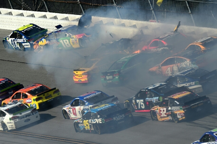 NASCAR studying Kyle Busch's car after unusual and dangerous incident