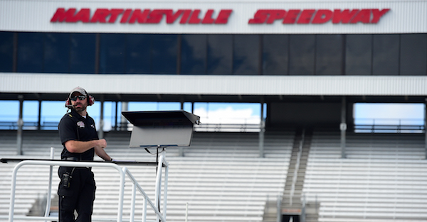 The weather could be the biggest story of the day at Martinsville