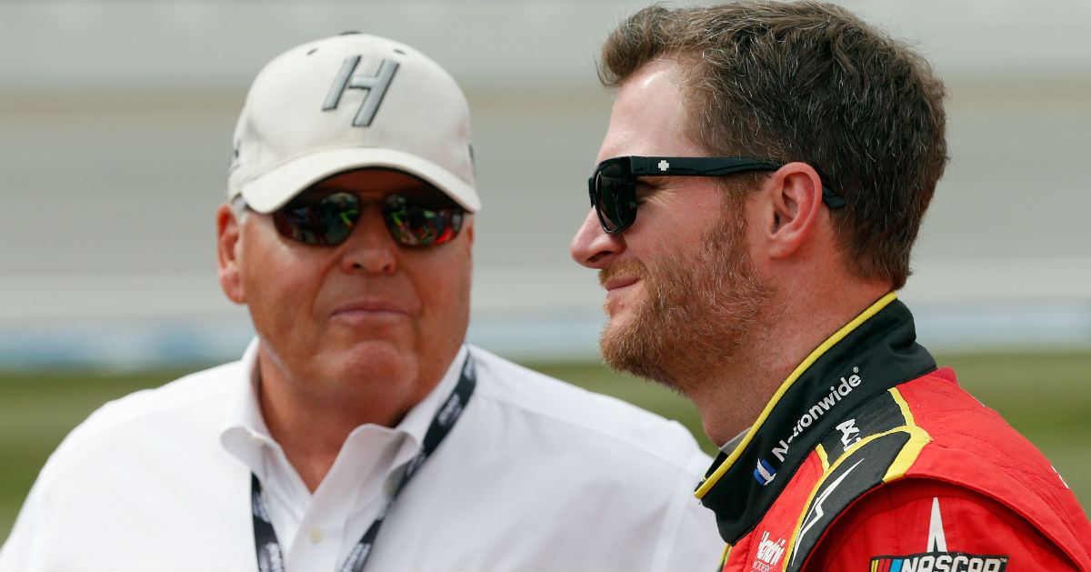 Rick Hendrick wants a NASCAR legend to eventually succeed him at HMS