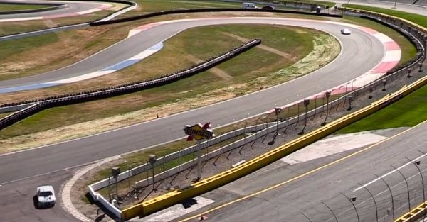The new Roval course at Charlotte might already have a problem