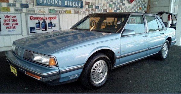 You can buy this very low mileage 1989 Oldmobile 88 Brougham cheap!