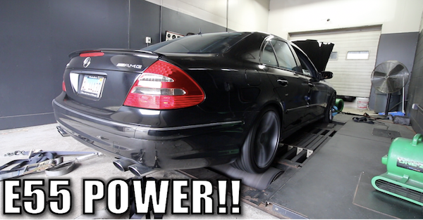 I took my $9,000 modified E55 AMG to the dyno