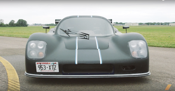 Here's what a 750 horsepower DOHC LS7 can do in 2200 Pound Ultima GTR