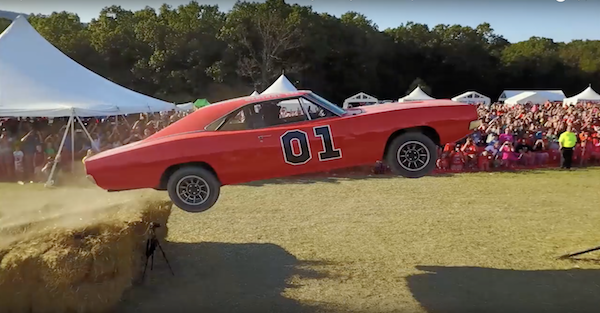 This is how you build and jump a General Lee without destroying a classic Charger.