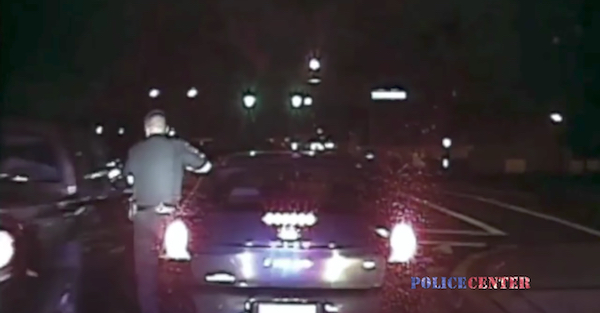 This officer's dashcam shows how dangerous each and every traffic stop is