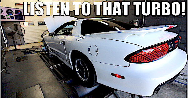 The sound of this Big Turbo Trans Am on the dyno will make your day
