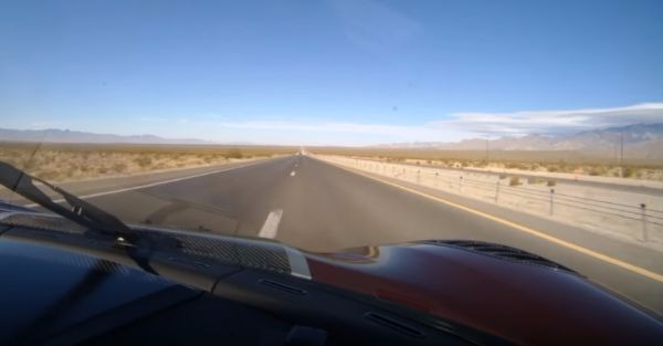 Watch How Fast Nevada Goes by in the Fastest Production Car