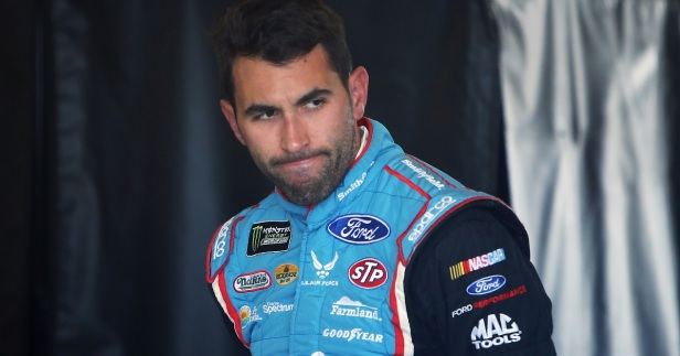 Aric Almirola took a break from social media because of some vile, despicable 'fans'