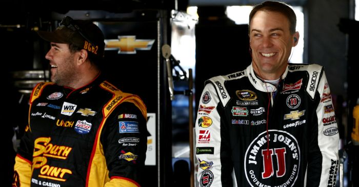 Kevin Harvick decides to spend the off season teaching shaving lessons