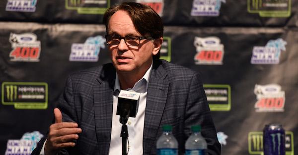 Speedway president was not happy that NASCAR publicly shamed him in tweet