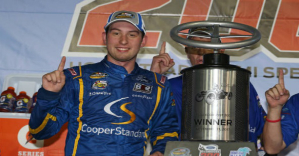 After the first win of his career, Chase Briscoe takes home a major award