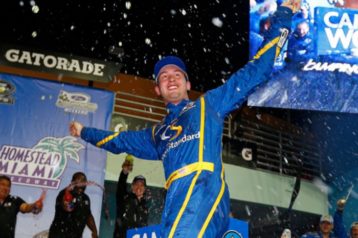 Chase Briscoe gets his first Truck series win, but Christopher Bell gets the title