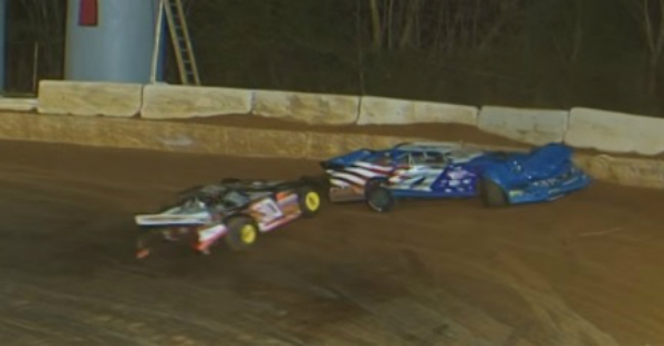 Driver hospitalized, suffers severe injuries after wreck on the track