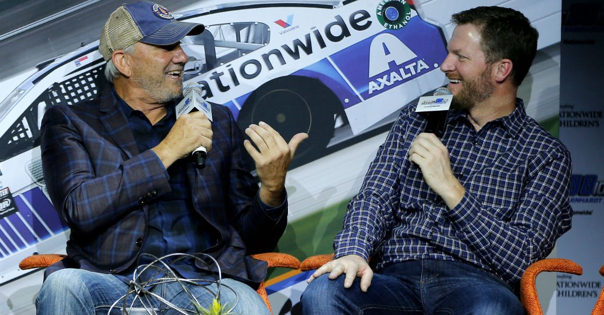 Dale Jarrett tells a heart warming story about Dale Jr. that shows his generous side