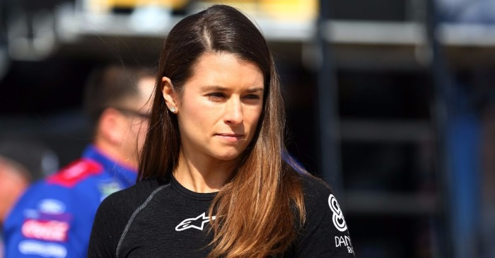 Danica Patrick stays mum about a big rumor, but her face may have given everything away