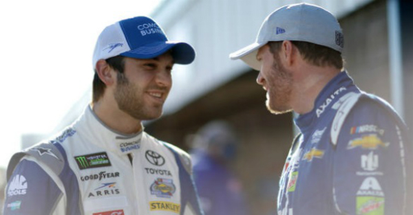 Joe Gibbs heaps praise on one of his young drivers