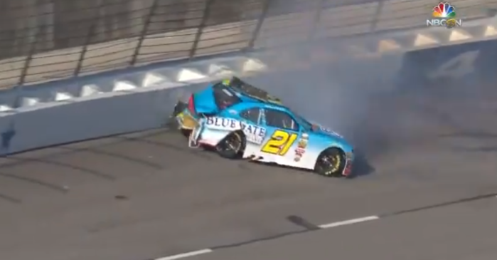 Xfinity practice cut short after wreck sends debris on the track
