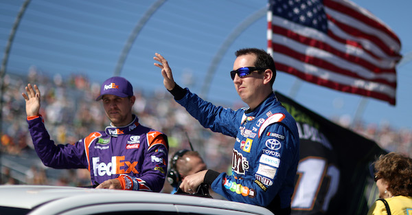 Vegas says only one driver has a better chance to win the Daytona than Kyle Busch and Denny Hamlin