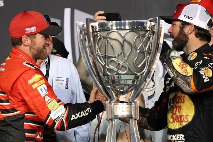 Truex, Jr. credits a NASCAR legend for giving him his shot