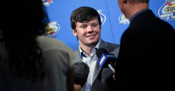 Erik Jones says he ate the hottest chip in the world, and it looks like he paid for it