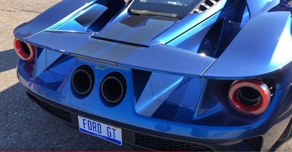Ford GT titanium exhaust