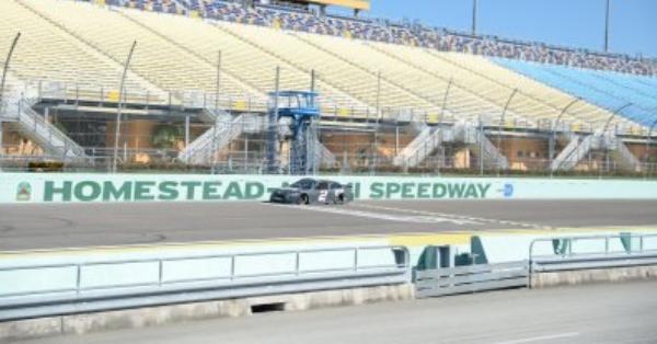 An American sports hero will start NASCAR's championship race