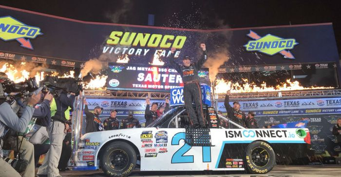 Defending NASCAR champ on the verge of repeating history