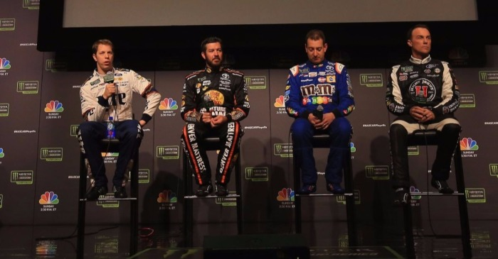 Who is Dale Earnhardt Jr. rooting for to win NASCAR's championship race?