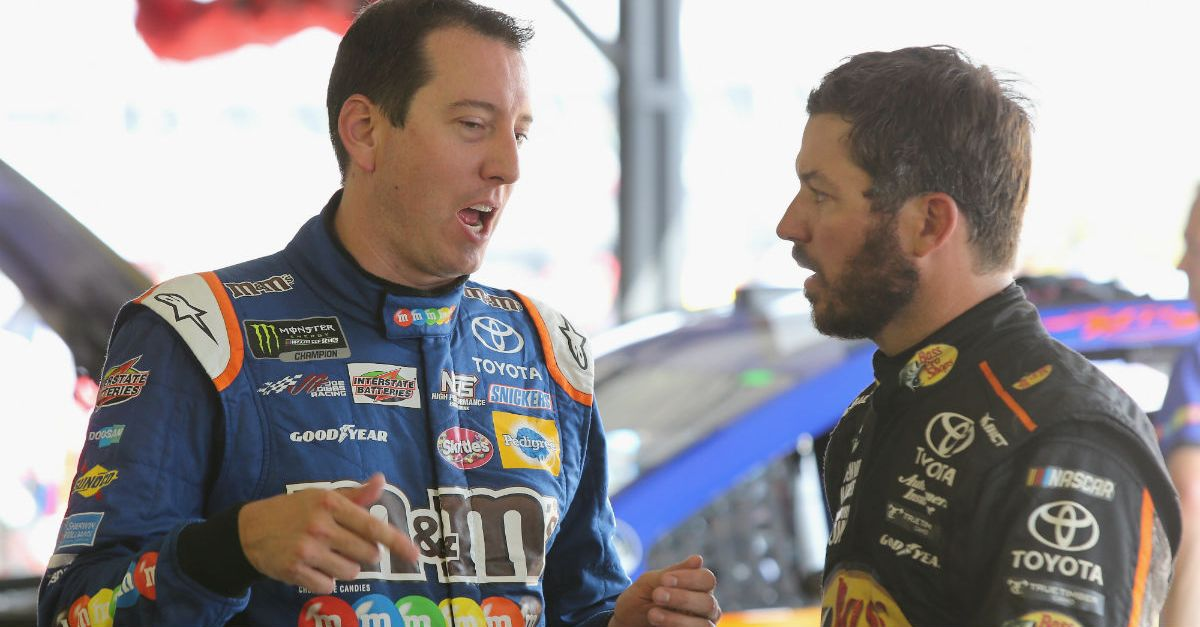 A Cup Series team is so tight knit that not even politics can tear it apart