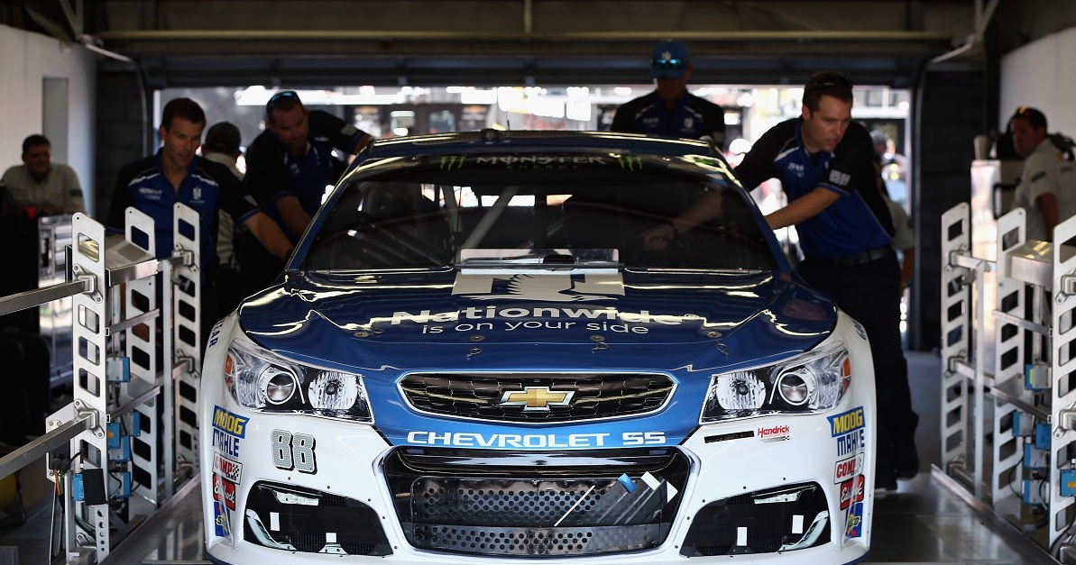 Should NASCAR follow F1's lead and strip wins for failing inspections?