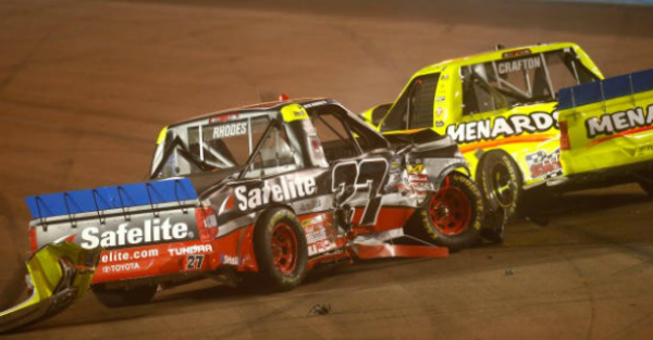 Football fans were livid and it all had to do with the chaotic truck race at Phoenix