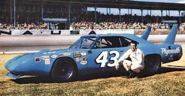 NASCAR rules killed the Dodge Daytona and Plymouth Superbird (Richard Petty drove it!). What a shame.