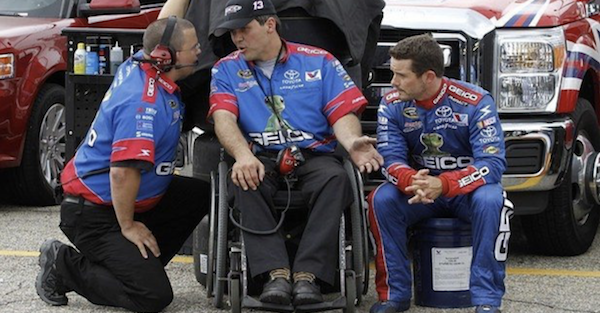 Veteran crew chief gets the boot from a team he's been with since 2010