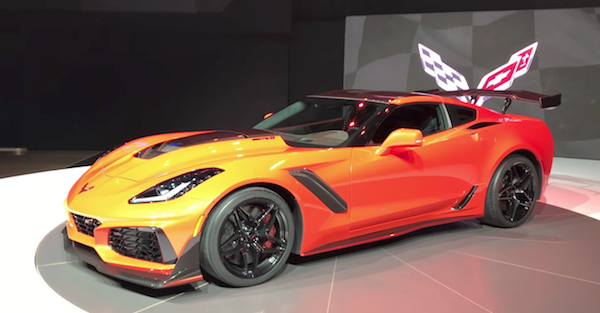 Corvette's brand-new ZR1 is a sports car beast