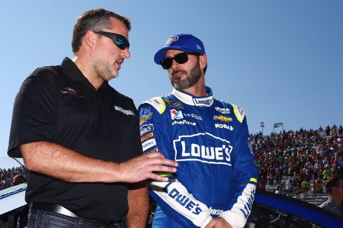 With several veterans leaving NASCAR, one graybeard is looking forward to being around for a while