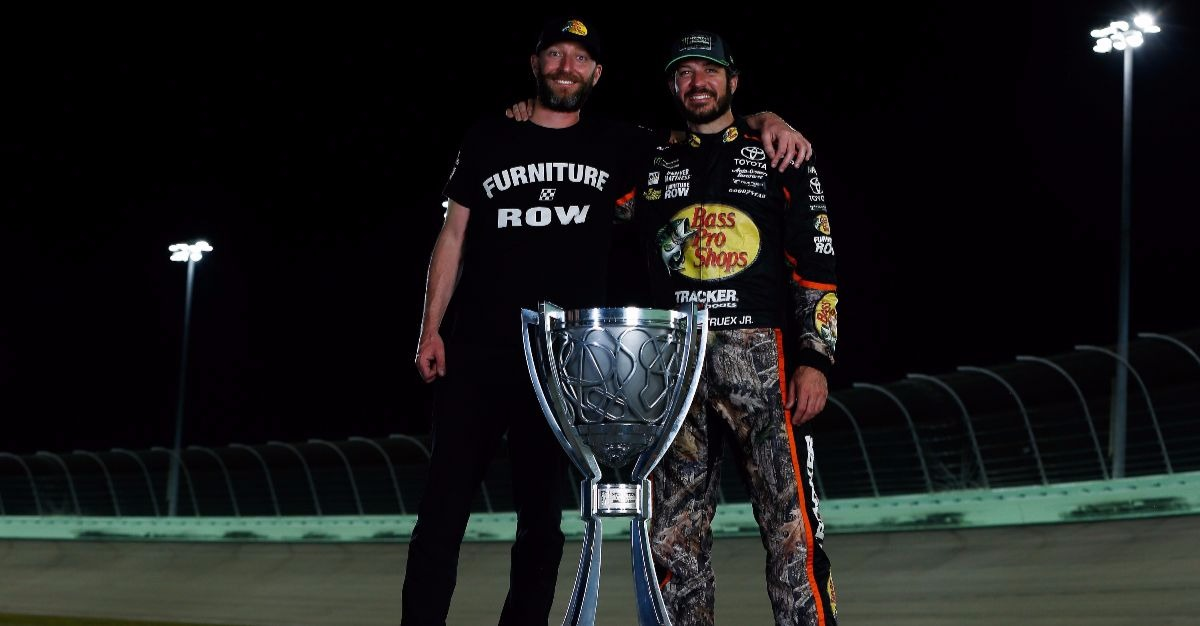 Martin Truex Jr. 'Wouldn't be here today' without a racing legend