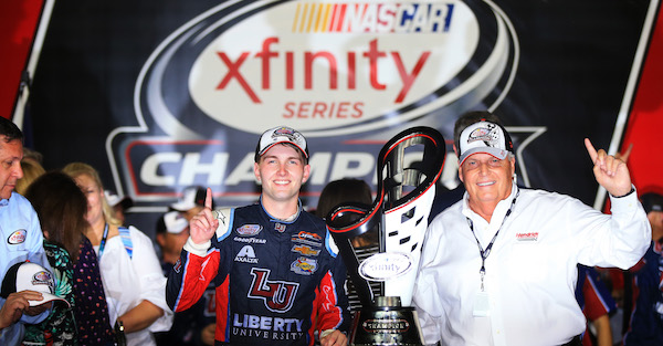 NASCAR will give out a bunch of awards to well-deserving drivers this weekend
