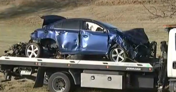 A 7-year-old hospitalized after very fast, serious car crash — and he was driving