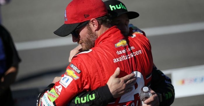 Dale Jr. goes to bat for his nephew and has an intriguing suggestion for a team that could be a fit