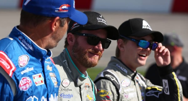 Dale Jr. raves about NASCAR's young talent but notes they face a big challenge