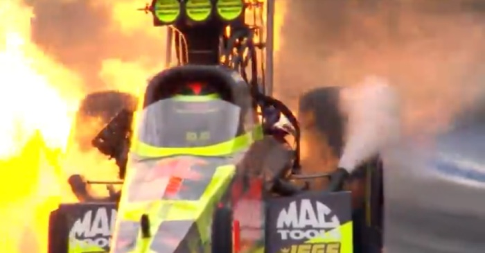 NHRA compiles the greatest car explosions of 2017