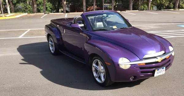 The Chevy SSR is suffering from a bit of an identity crisis