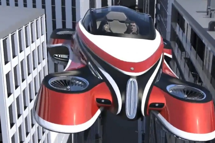 This amazing concept for a flying car is based on vehicle from the 1920s