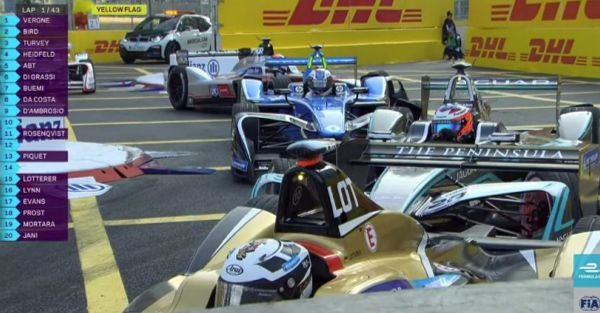 Formula E's race-stopping wreck and controversial disqualification result in a terrible weekend
