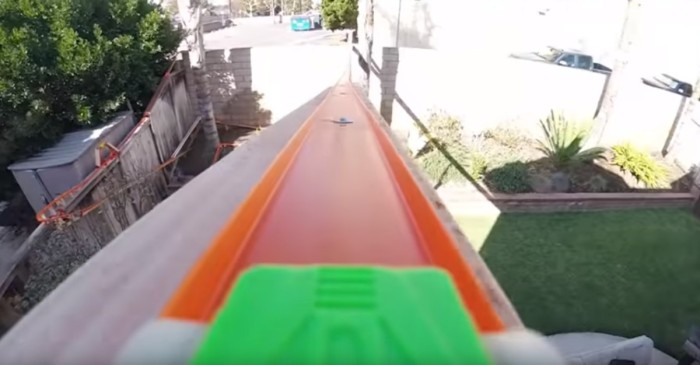 This is the ultimate hot wheels track you wanted to build as a kid