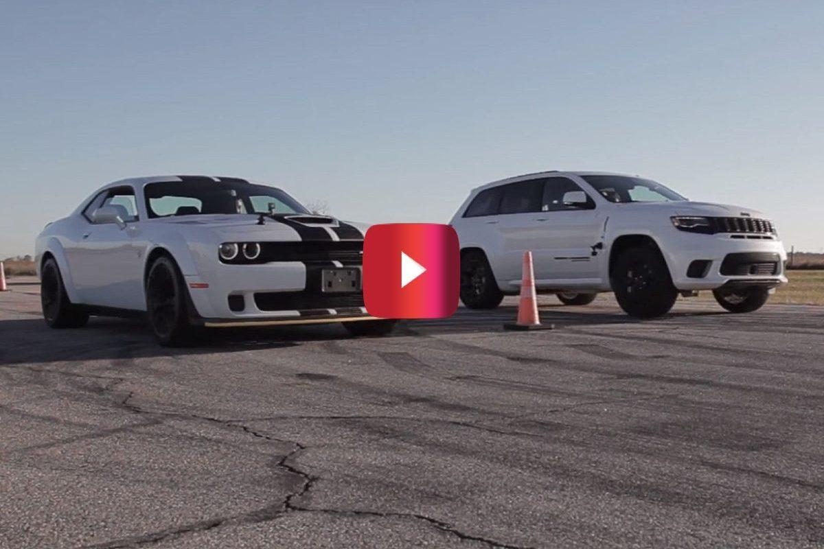 jeep trackhawk vs. challenger hellcat